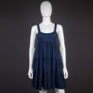 VS Property of UNIV. of PINK S Ruffle Tiered Dress